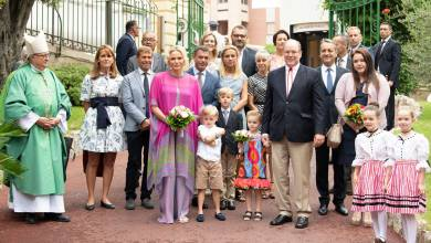 Photo of Princely Family attend Monegasque Picnic in the Rain