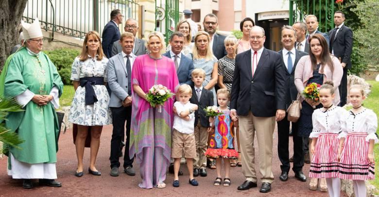 Princely Family attend Monegasque Picnic in the Rain