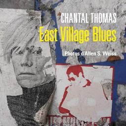 "Chantal Thomas signs copies of her book ""East Village Blues"""