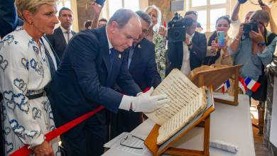 Photo of Prince Albert makes Historical Visit to Romans-sur-Isère and Rouen