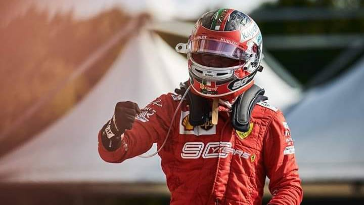 LeClerc Makes the Podium in Russia