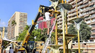 Photo of Dismantling the Guy Lartigue Fountain in Larvotto