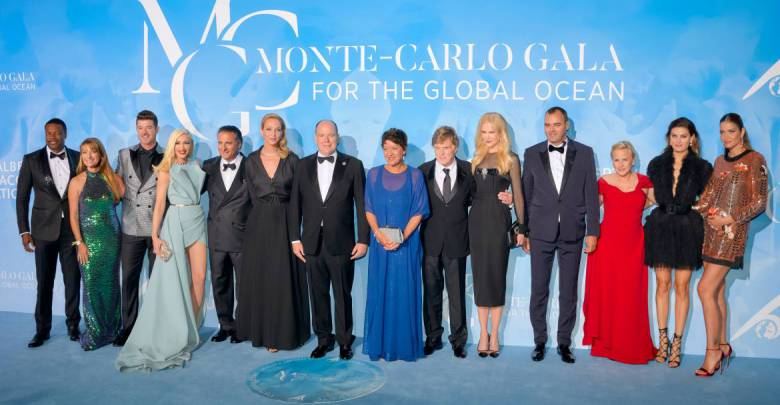 3rd Monte Carlo Gala for the Global Ocean: celebrities safeguarding our planet