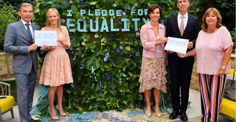 """""""Pledge for Equality""""launched by SheCanHeCan Monaco"""