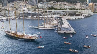 Photo of American Yachts on display for Classic Week Monaco