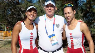 Photo of Prince Albert cheers on Monaco's Athletes during Mediterranean Beach Games