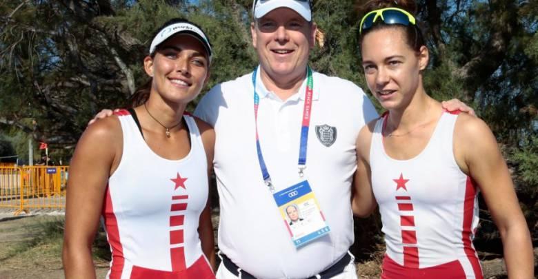 Prince Albert cheers on Monaco's Athletes during Mediterranean Beach Games