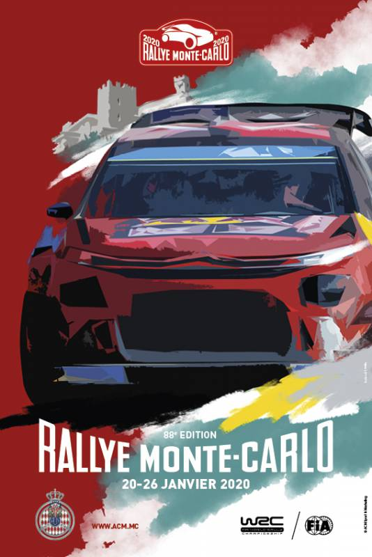 88th edition of Monte-Carlo Rally