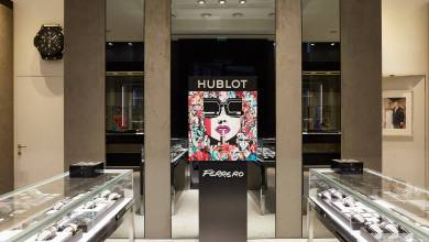 Photo of Hublot's First Boutique in Monaco and the New Limited Edition Big Bang One Click with Marc Ferrero