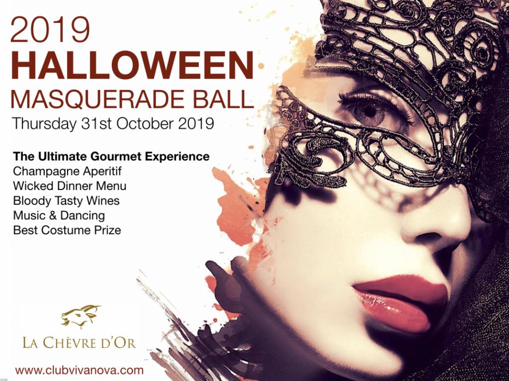 2019 Halloween Masquerade Ball with Club Vivanova