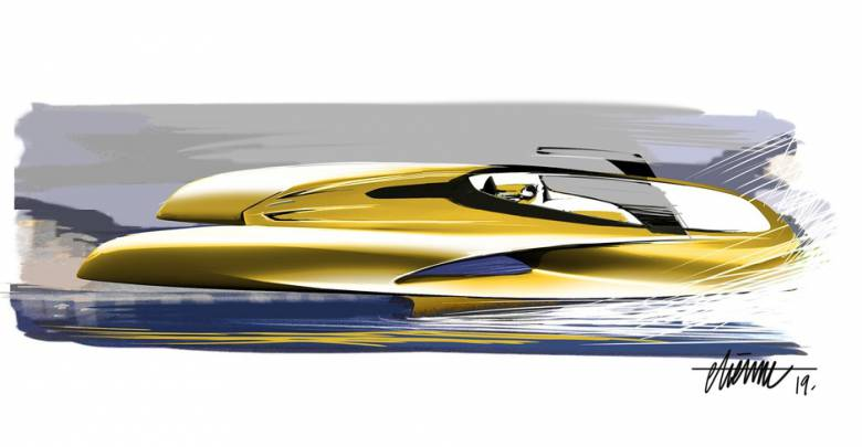 Bugatti on water: La Voiture Noire' designer enters the yachting world