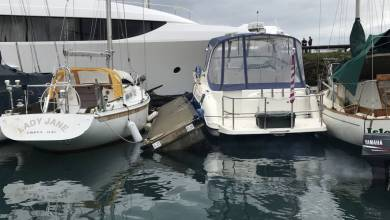 Photo of 38m superyacht Westport 125 slams into a dock and damages vessels in Washington and other yacht news