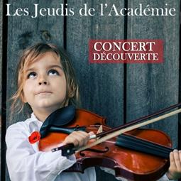 "Introductory concert featuring ""the Academy Youngsters"" by the strings department"