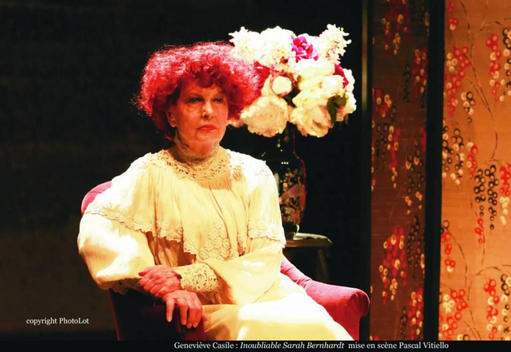 """""""Inoubliable Sarah Bernhardt"""" (""""Unforgettable Sarah Bernhardt"""") by Joëlle Fossier"""