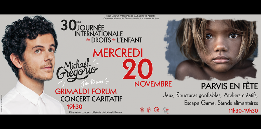 Mickaël Gregorio concert for the 30th International Convention on the Rights of the Child