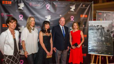 Photo of Prince Albert meets Jodie Foster for Pink Ribbon and other princely news