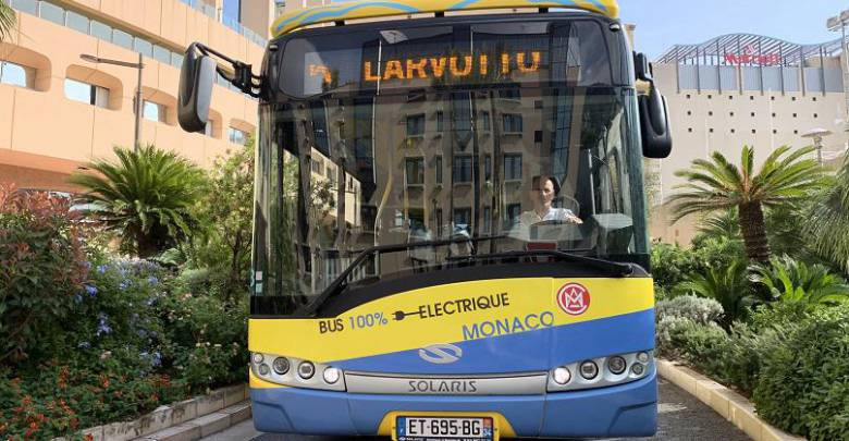 Electric Bus Test on the CAM's Network