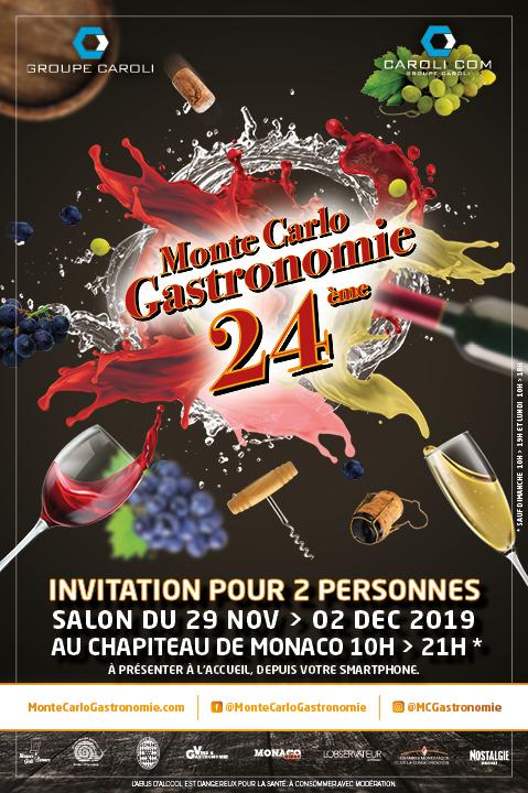 24th Monte-Carlo Gastronomie trade show