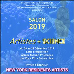 """""""Artists + Science"""" exhibition"""