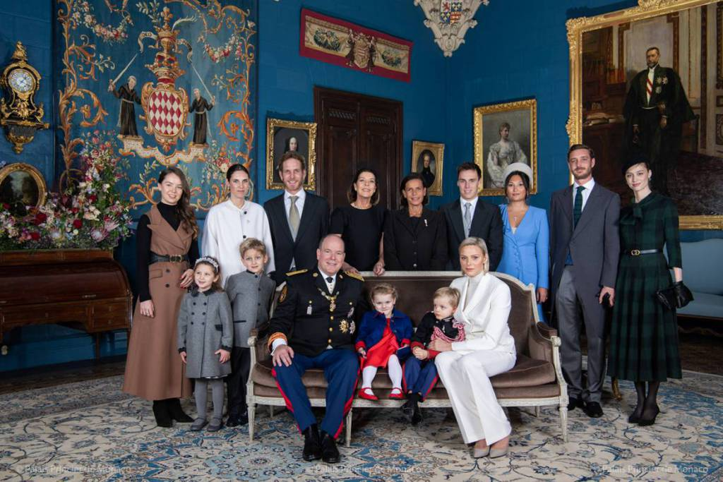 Prince Albert Honours Princess Grace during Fête Nationale