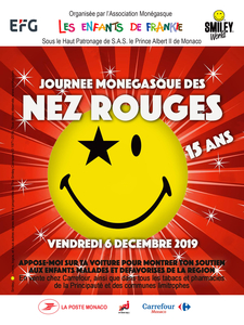 The 15th Monegasque Red Nose Day