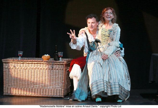 """Théâtre historique """"Mademoiselle Molière"""" de Gérard Savoisien"""