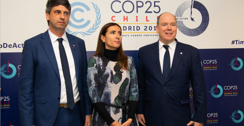 Prince Albert speaks at COP25 in Madrid