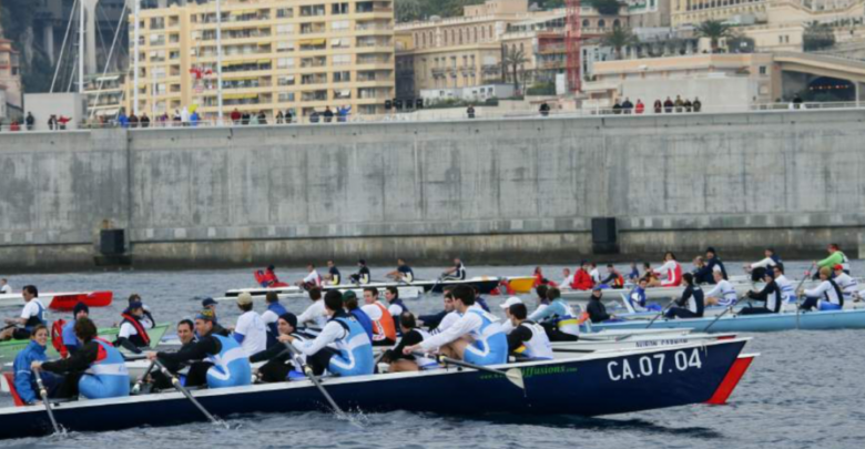 "Challenge Albert II, the ""First European Coastal Rowing Regatta"""