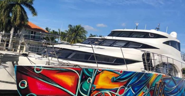A work of art: 70 Sunreef Power yacht at Art Basel Miami