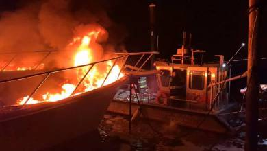 Photo of Two yachts destroyed by fire leaking fuel in New Jersey and other Monaco news