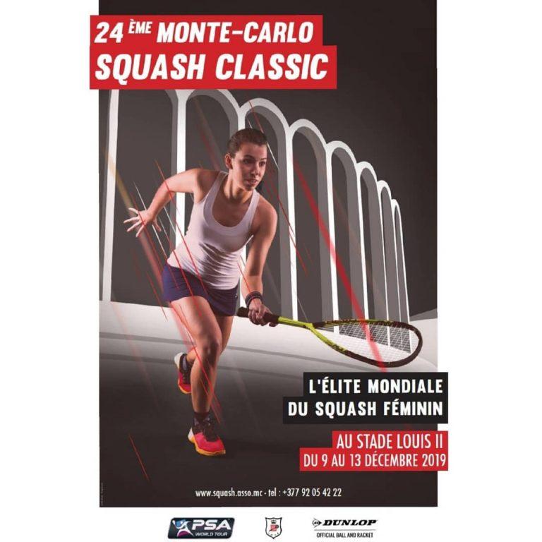 24th Monte Carlo Squash Classic Female 2019