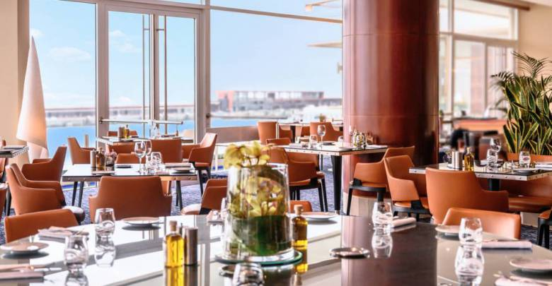 Fairmont Monte-Carlo's Bistro Lounge and Bar Saphir24