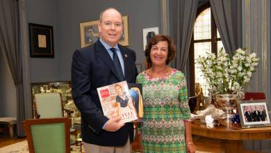 Photo of Prince Albert on his mother, Princess Grace, and his environmental efforts