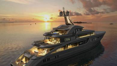 Photo of 81m Sea Eagle II: Royal Huisman launches the world's largest aluminium schooner and other yacht news