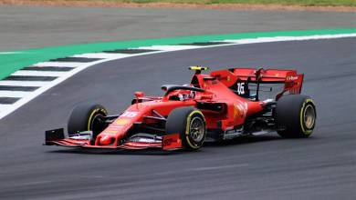 Photo of The Charles Leclerc Grandstand at Monaco's Grand Prix