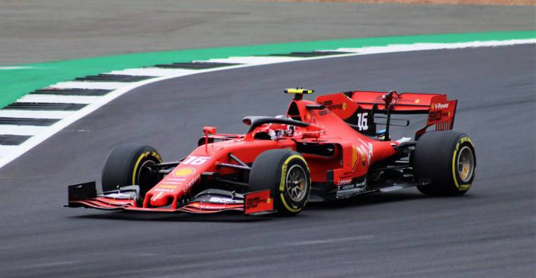 The Charles Leclerc Grandstand at Monaco's Grand Prix