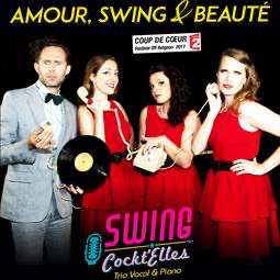 """Amour, Swing & Beauté"" (""Love, Swing & Beauty""), a musical show"