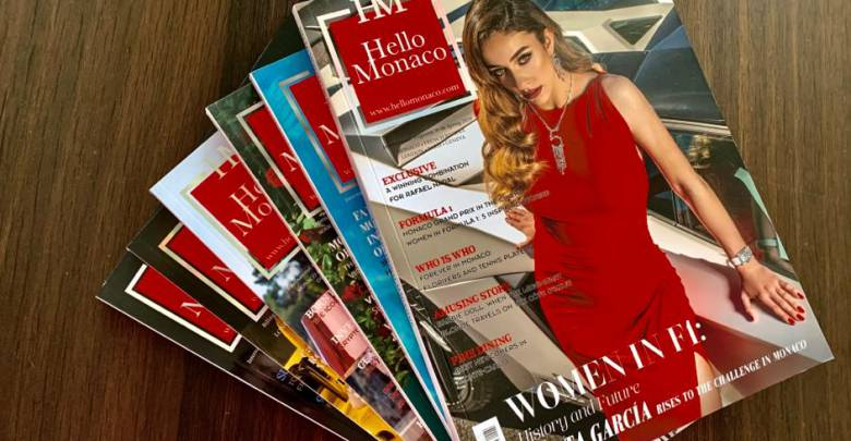 The opportunity to subscribe to Hello Monaco magazine has just opened up