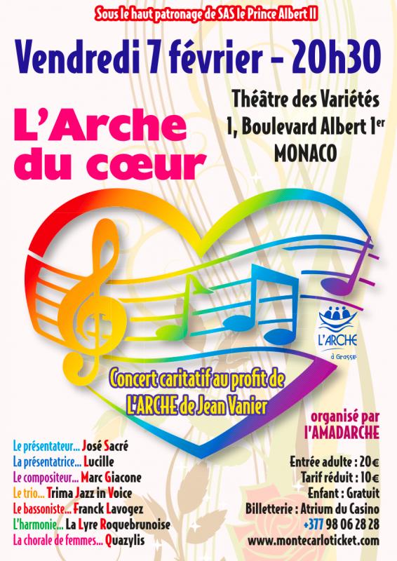 """""""L'Arche du Coeur"""", charity concert"""