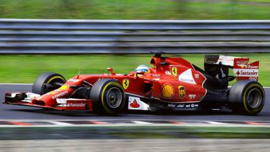 Photo of Charles' Younger Brother Arthur LeClerc Heads Toward the Top Tier Under Ferrari's Watchful Eye