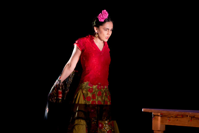 """Frida"", a play by Céline Bernat"