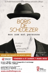 "Symposium: ""Boris de Schloezer: my name is nobody"""