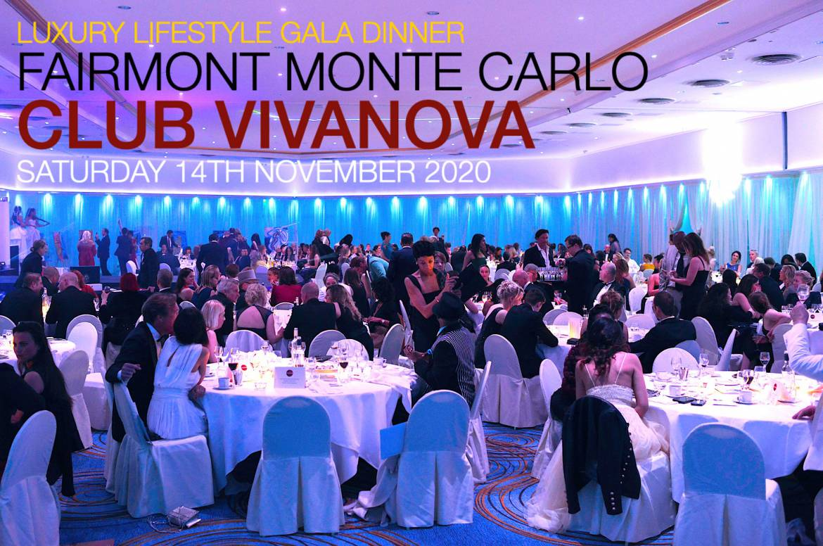 2020 Luxury Lifestyle Charity Gala Dinner Club Vivanova