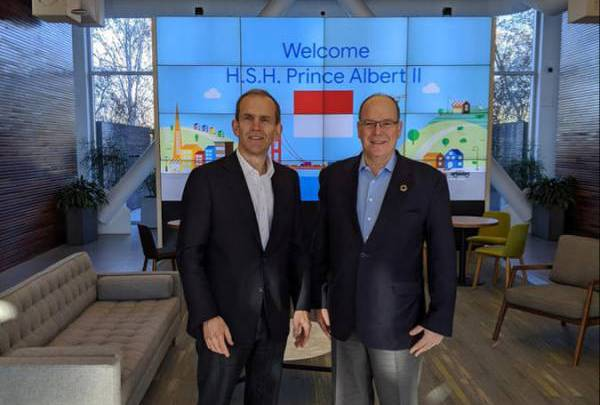 Visit by H.S.H. Prince Albert II to Mountain View and other princely news