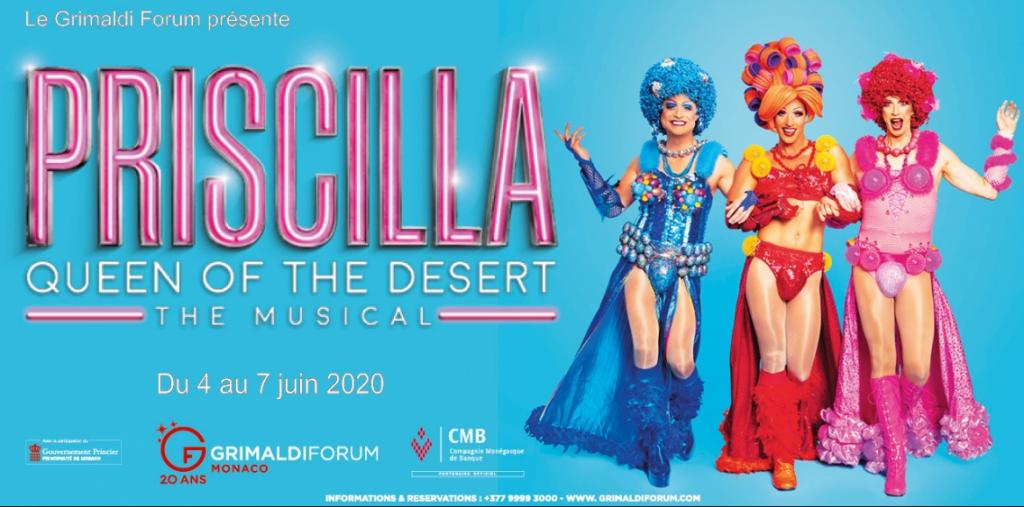 PRISCILLA, QUEEN OF THE DESERT THE MUSICAL