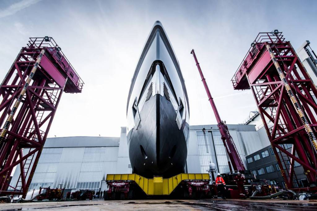 YACHT LAUNCH MARKS THE START OF AMELS SPRING DELIVERIES