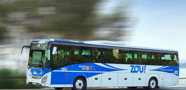 ZOU Bus Service between Beaulieu-sur-Mer, Monaco and Menton