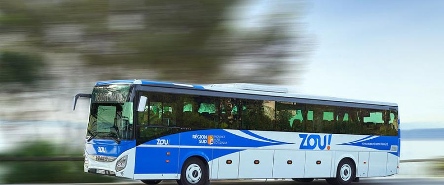 ZOU Bus Service between Beaulieu-sur-Mer, Monaco and Menton