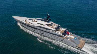 Photo of Bilgin's first 80m passed its first sea trial with full success and other yacht news