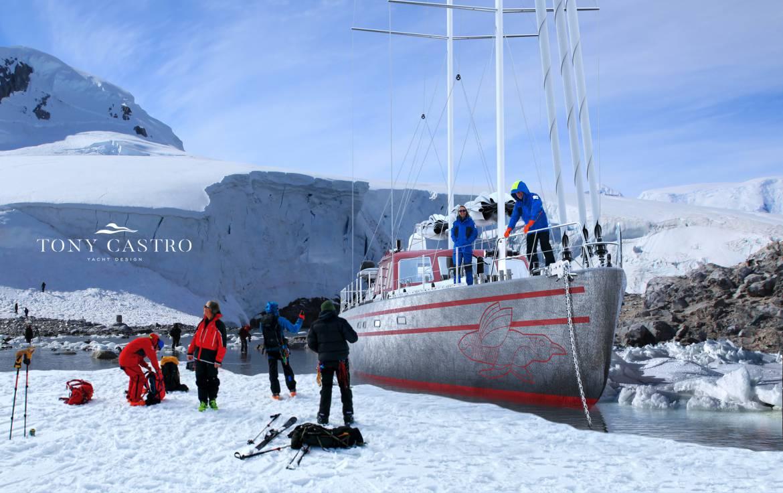 Le nouveau voilier Pelagic 77 conçu pour découvrir les mers polaires